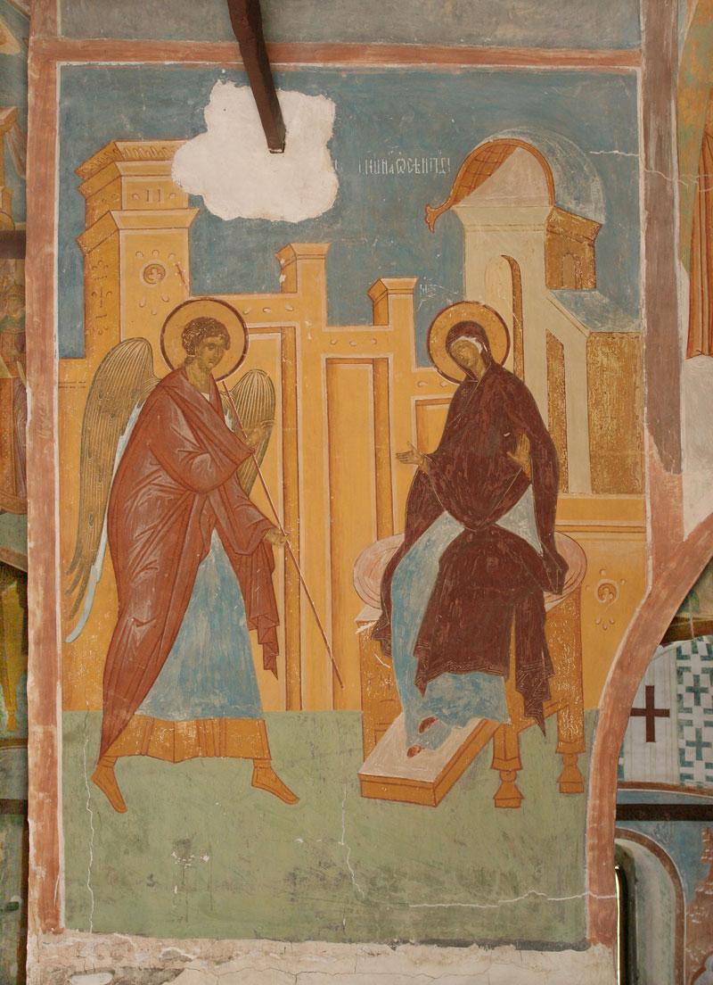 Фрески ферапонтова монастыря